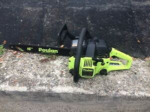 "18"" and 16"" Poulan Chainsaws"
