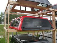 """2 Used Truck Canopies Toppers Built For  2015+ Ford F-150 6'.6"""" Red Deer Alberta Preview"""