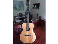VOX V2000-OMR Electro-Acoustic Guitar (Made in Japan) Serial Number T2090026 with hard case