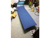Folding camp bed safari style.