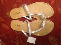Chix sandals - women's size 4