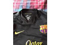 Barcelona away top long sleeve large men's £10