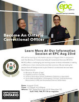 Corrections Canada Recruitment Info Session