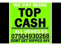 07504 930268 SELL YOUR CAR 4x4 FOR CASH BUY MY SCRAP COMMERCIAL Oil