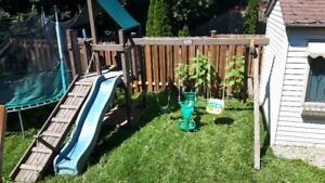 Play Structure / Swing Set