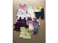 Baby girl's summer bundle 3-6 months