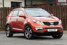 2012 KIA SPORTAGE 1.7 CRDI 3 2WD 5DR ESTATE DIESEL