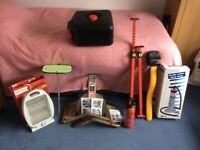 Assorted camping equipment