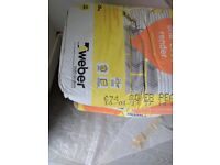 Weber Silver Pearl Render Mix 25Kg - 4bags