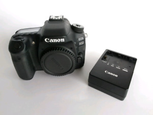 Canon 80D DSLR with extended warranty + 18-135 STM
