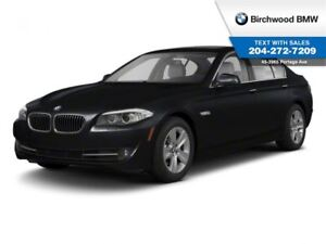 2013 BMW 5 Series 528i Xdrive Premium Package, Advanced Safety P