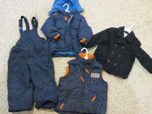 Lot of boys fall/winter clothes - Size 3