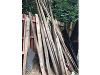 Large amount of wood