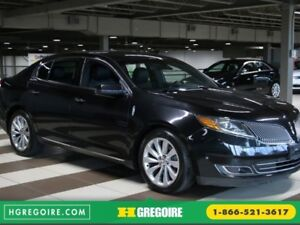 2013 Lincoln MKS 3.7L AWD AUTO A/C CUIR NAVIGATION  MAGS CAMÉRA