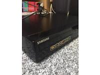 Samsung Surround Sound system and DVD player