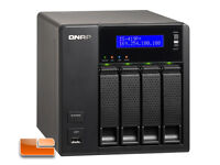 QNAP TS-419P+ Turbo NAS 4 Bay with 1.6GHZ, 512MB iSCSI iTune