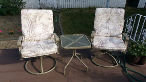 Patio set  45.00  o.b.o.