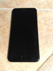 iPhone 6 plus 64G Telus Boite +Écouteur + Étiu