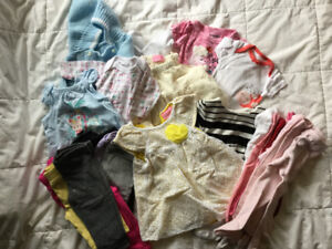 0-6 Months Girls Clothing Lot