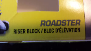 roadster riser block / blok d elevation can-am spyder