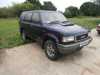 Isuzu Trooper LWB 3.1 for spares/repair