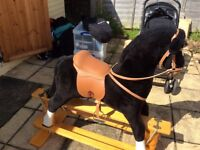 Rocking horse in lovely condition