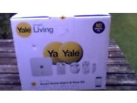 yale alarm wireless smart home and view kit model sr330 brand new still boxed.