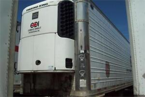 (7)'03-'05 UTILITY, WABASH, DORSEY, GREAT DANE, 53' T/A REEFERS