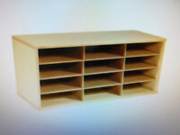 Classroom Select 12 Slot Storage Organizer - Wooden - NEW London Ontario Preview