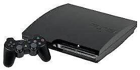 PS3 slim 120 GO + 9x Jeux + 2x manettes