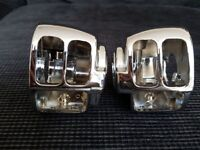 HARLEY DAVIDSON MULTI FIT CHROME SWITCH HOUSING BRAND NEW