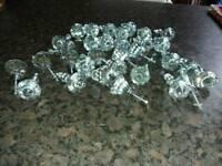 Kitchen or bedroom Crystal knobs