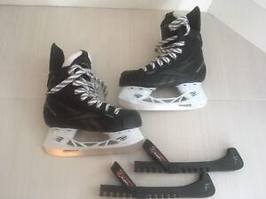 Patins d'hockey Reebok grandeur 12.5 / Reebok skates size 12.5
