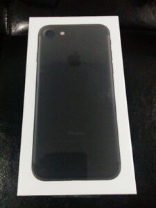Iphone 7 32GB/Black-Sealed/650!