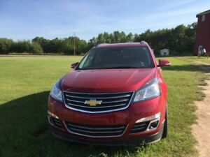 2013 Chev Traverse LTZ SUV, great family vehicle with full warr!