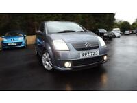 Citroen C2 Code 1.6i 16v Tricky looking car, great colour combo Glasgow Scotland