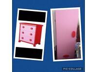 Ikea girls bedroom furniture £50