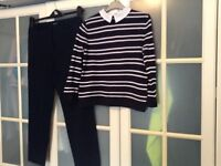 Ladies trousers and jumper