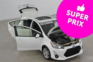 2016 Toyota Prius c Technologie GPS+Cuir+Bluetooth+Toit Ouvrant