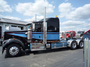 "2013 Kenworth W900-L  265 "" wheelbase sleeper tractor"