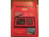 Snap-on Tools Technical Data Catalogue