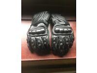 Crane motorcyle gloves
