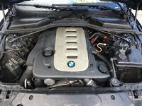 MW 525i DIESEL ENGINE /GEARBOX BREAKING WHOLE CAR