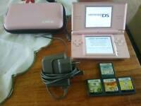 Nintendo Ds Pink Lite