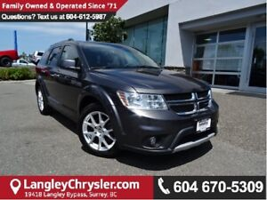 2015 Dodge Journey R/T W/BLUETOOTH & HEATED  LEATHER UPHOLSTERY