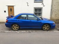 SUBARU IMPREZA SALOON 2.0 WRX 4 DOOR ***PREVIOUS OWNER FOR 16 YEARS***