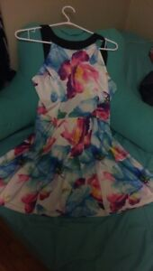 BRAND NEW WATERCOLOR DRESS