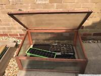 Outdoor grow house (seeds, plants, crops)