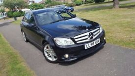 Mercedes-Benz C Class 2.1 C220 CDI Sport 4dr 2KEYS,LONG MOT,GENUINE MILEAGE