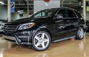 2014 Mercedes-Benz M-Class ML350 BlueTEC - AMG PKG| PANO| 360 CA